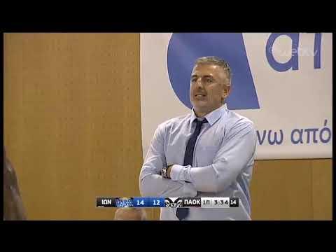 ΙΩΝΙΚΟΣ – ΠΑΟΚ | Basket League | 12/10/2019 | ΕΡΤ