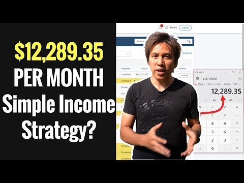 Make Money Online In 2018 | How I Make $12,289.35 PER MONTH Selling Solo Ads