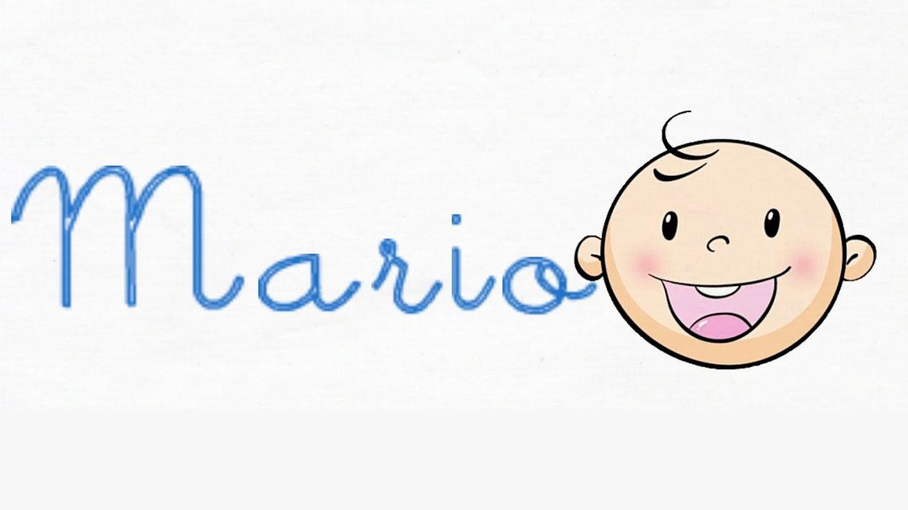 Mario, nombre para bebé - Significados de los nombres