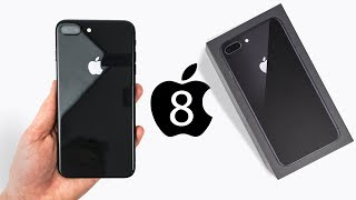 iPhone 8 Plus - UNBOXING & Initial Review!