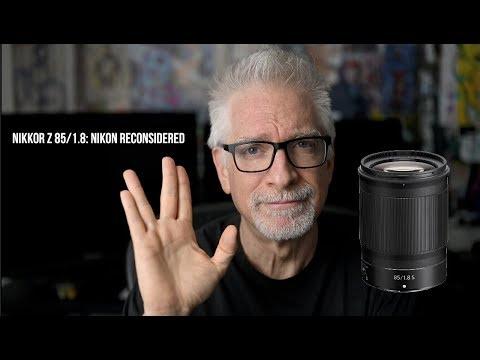 External Review Video tvbxyM6sUL8 for Nikon NIKKOR Z 85MM F/1.8 S Lens