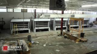 Artisan Bread Stone Hearth Deck Oven Installation