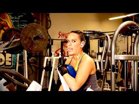 Female Fitness Model Training ! - YouTube