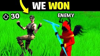 I Made FRIENDS With An ENEMY.. (Fortnite)