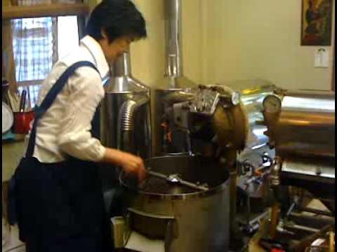 自家焙煎ブルーマウンテンコーヒー通信販売.wmv