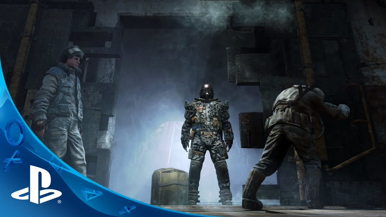 Metro Redux: Two Games, 1080p on PS4