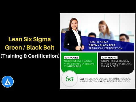 Lean Six Sigma Training and Certification   GREEN ... - YouTube