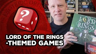 Lord Of The Rings-themed Games