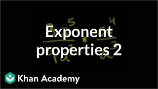 Exponent Properties 2