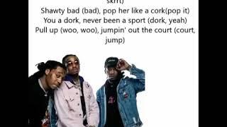 Migos, Nicki Minaj, Cardi B   MotorSport Lyrics 🔥🔥