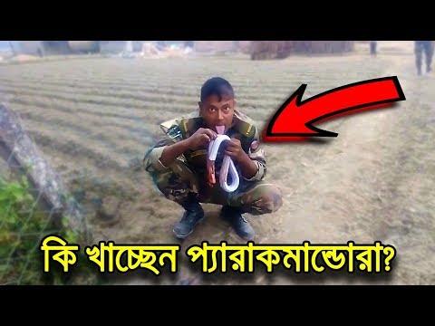 , title : 'বাংলাদেশ প্যারাকমান্ডোদের খাবারের নমুনা | Bangladesh Army Special Forces Food Habit'