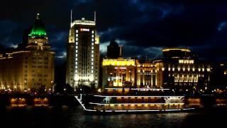 Video : China : Evening river cruise through ShangHai 上海 - video