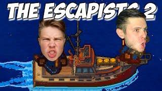 Эпик Побег С Нефтяной Вышки - The Escapists 2 Coop