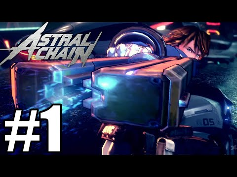 Astral Chain Gameplay Walkthrough Part 1 - Nintendo Switch ( No Commentary)