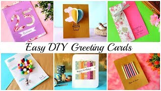 DIY Greeting Card Ideas | Beautiful Handmade Greeting Cards | Birthday Cards