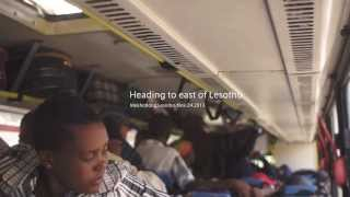 preview picture of video '旅する鈴木455:Heading to east of Lesotho @Lesotho'