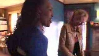 Zoe Bell in Kill Bill 1 fight scene