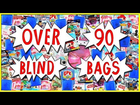 OPENING OVER 90 BLIND BAGS 🎁 Lol Surprise & MORE November 2018 Compilation | Trusty Toy Channel