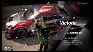 🚩Gran Turismo SPORT Online🚩 Road to Trophy, Record de victorias, 21 Victorias, C.B. Audi TT Cup 16