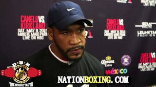 JAMES KIRKLAND EXPLAINS WHY HE LEFT ANN WOLFE AND HIS KEYS TO BEATING CANELO