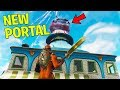 *NEW* Fortnite TOMATO TOWN PORTAL is DESTROYING THE MAP! | Fortnite Battle Royale Gameplay)