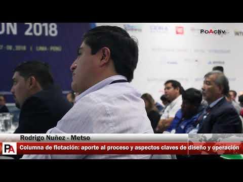 Flotación 2018 - Metso: Aporte al progreso y aspectos claves de diseño y operación