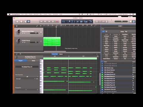 GarageBand Tutorial 1 – Getting Started in GarageBand on the iMac and iPad version.