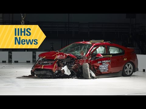 IIHS small overlap front test