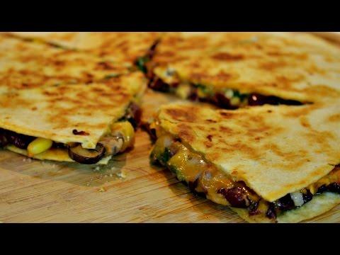 Video The Ultimate Vegetarian Quesadilla Recipe