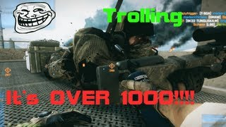 Battlefield 3 - 1000 Subs Trolling Special
