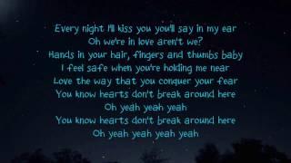 Ed Sheeran - Hearts Don't Break Around Here (lyrics)