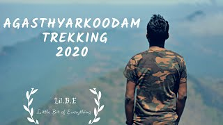 Agasthyarkoodam Trekking 2020   A journey to Agastya Mala   Lil.B.E   Little Bit of Everything