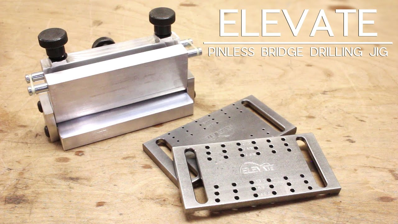 Using Your Pinless Bridge Drilling Jig