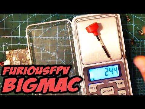 Самые маленькие антенны с круговой поляризацией, сравнение с Lollipop [FuriousFPV BigMac Antenna]