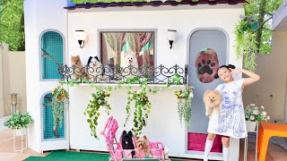 🐶 We Built A Dog House Mansion | Bugs Dogs 🐶