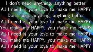 Alexandra Stan - HAPPY [Official Lyric Video] New Single 2015