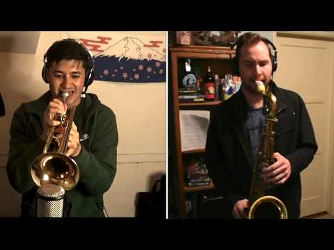 Band Plays On Horn Arrangement
