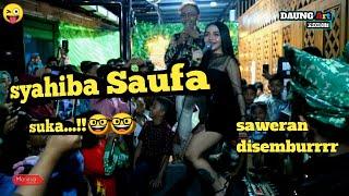 Syahiba Saufa   Welas Hang Ring Kene Cover Live In Pasar Banyuwangi Penontonnya Full