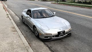 MORE MODS FOR THE RHD RX7!!
