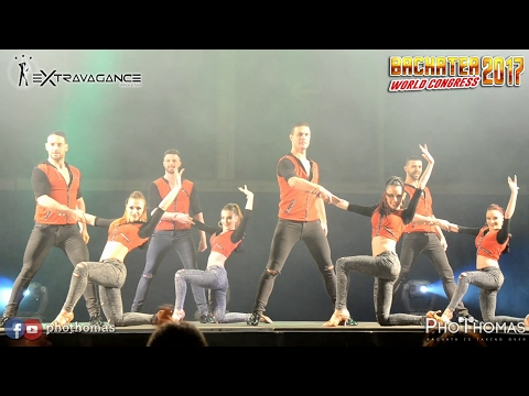Extravagance Dance Company by Andrea & Silvia   - VI Bachatea World Congress (Madrid-Spain) 2017-02-17