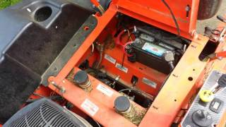 Bad Boy lawn mower not wanting to start