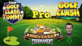 Golf Clash tips, Playthrough, Hole 1-9 - PRO - TOURNAMENT WIND! 2nd Anniversary Tournament!