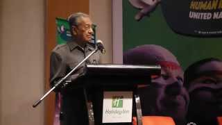 Keynote Speech By Tun Dr. Mahathir Mohamad, Malacca Bar Peace Forum 2015 — #MBPF15