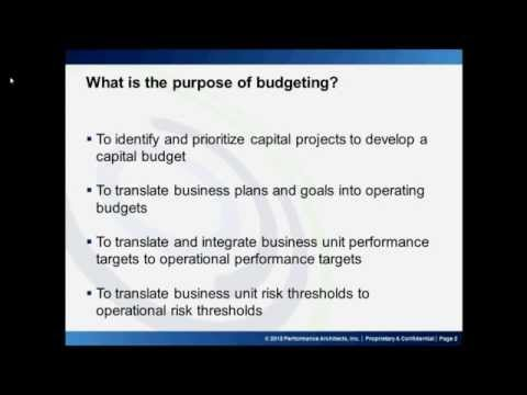 Budgeting and Forecasting Part 1 - YouTube