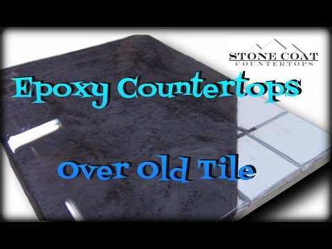 Epoxy Countertops over old tile