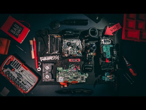 Что внутри Видеокамеры?