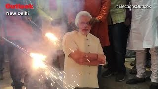 BJP Workers Across India Celebrate Party's Success