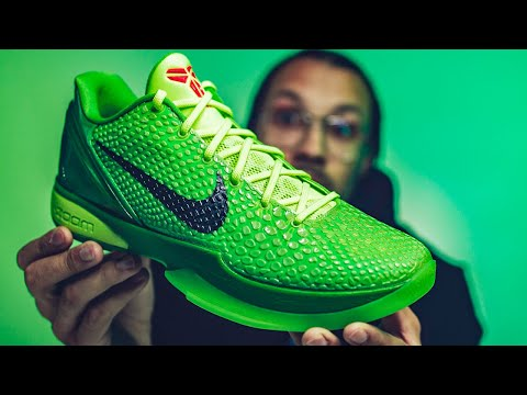 FIRST LOOK Nike Zoom Kobe 6 Protro Grinch 2021