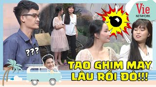 """Mac Van Khoa startled to see Quynh Quynh jealous Khanh Van because """"falling in love"""" with Duong Lam"""