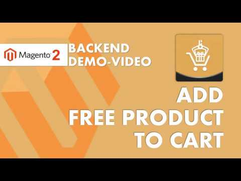 Add Free Product to Cart Video
